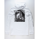 QUIKSILVER Kanakura Connect White Mens Lightweight Hoodie