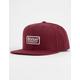 BRIXTON Palmer II Burgundy Mens Snapback Hat