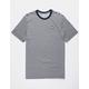 NIKE SB Stripe Black Mens T-Shirt