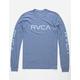 RVCA Big RVCA Blue Mens T-Shirt