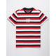 HUF Marka Bold Stripe Mens T-Shirt