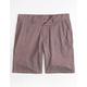 RVCA Balance Dobby Bordeaux Mens Hybrid Shorts