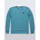 THE NORTH FACE Red Box Storm Blue Mens T-Shirt