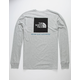 THE NORTH FACE Red Box Light Gray Mens T-Shirt