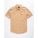 RVCA Aye Kat Apple Cinnamon Mens Shirt