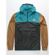 THE NORTH FACE Fanorak Blue & Khaki Mens Windbreaker Jacket