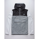 THE NORTH FACE Fanorak White & Gray Mens Windbreaker Jacket