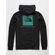 THE NORTH FACE Red Box Black & Iridescent Mens Hoodie