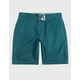 CHARLES AND A HALF Lincoln Stretch Teal Blue Mens Shorts