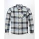 VOLCOM Caden Blue Mens Flannel Shirt