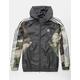 ADIDAS Camouflage Mens Windbreaker Jacket