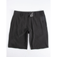 O'NEILL Reserve Heather Black Mens Hybrid Shorts