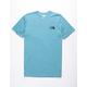 THE NORTH FACE Rest Assured Tri-Blend Storm Blue Heather Mens T-Shirt