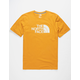 THE NORTH FACE Half Dome Gold Mens T-Shirt