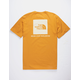 THE NORTH FACE Red Box Gold Mens T-Shirt
