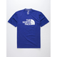 THE NORTH FACE Half Dome Aztec Blue Mens T-Shirt