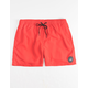 QUIKSILVER Everyday High Risk Red Mens Volley Shorts