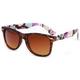 FULL TILT Tortoise/Floral Classic Sunglasses