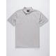 HURLEY Coronado Heather Gray Mens Polo Shirt