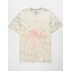 VOLCOM Tie Dye Solid Mens T-Shirt