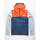 THE NORTH FACE Fanorak Orange & Blue Mens Windbreaker Jacket