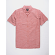 HURLEY One And Only Rust Mens Shirt