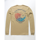 RIP CURL Sun Drenched Tan Mens Pocket Tee