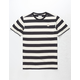 HURLEY Custom Striped Mens T-Shirt