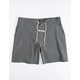 HURLEY Phantom Wasteland Heather Black Mens Volley Shorts