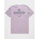 QUIKSILVER Vibed Lavender Mens T-Shirt