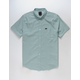 RVCA That'll Do Stretch Ice Blue Mens Shirt