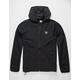 ADIDAS Dekum Packable Black Mens Windbreaker Jacket