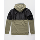 VOLCOM Aftermath Olive Mens Zip Hoodie