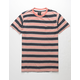 RVCA Lucas Navy Mens Pocket Tee