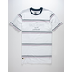 LIRA Clash Stripe Mens T-Shirt