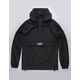 HUF Liberty Black Mens Anorak Jacket