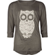 FULL TILT Lace Owl Girls Tee