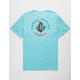 VISSLA Coral Reefer Light Blue Mens Pocket Tee