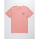 VISSLA Open Late Coral Mens T-Shirt