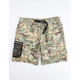 HUF Crosby Camo Mens Volley Shorts