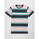 LIRA Clickstripe Pink Mens T-Shirt
