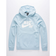 NIKE SB Icon Light Blue Mens Hoodie