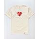 HUF x Popeye Olive Loves Huf Cream Mens T-Shirt