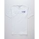 VOLCOM Reflection White Mens Pocket Tee