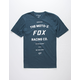 FOX Victory Navy Mens T-Shirt