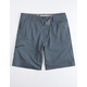 RIP CURL Global Passage Charcoal Mens Hybrid Shorts