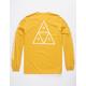 HUF Essentials TT Yellow Mens T-Shirt