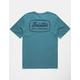 BRIXTON Jolt Slate Blue Mens T-Shirt