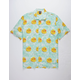NEFF Daily Pool Sider Turquoise Mens Shirt