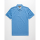 VOLCOM Wowzer Blue Mens Polo Shirt